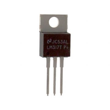 LM317T Variable Voltage Regulator TO220 1.5A Pack of 1